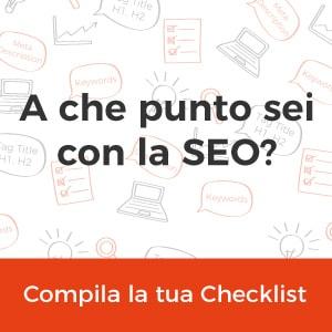 Consulenza SEO Checklist